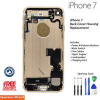 NEW iPhone 7 Complete Fully Assembled Back Cover Housing with ALL Parts - GOLD
