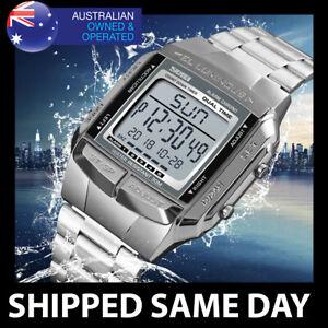 381 SKMEI 30M Mens Waterproof Sports Watch Digital Military Water Resistant 125