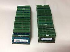 LOT OF 100 X MIXED BRAND 1GB PC2-6400S DDR2-800 LAPTOP MEMORY SODIMM RAM