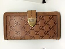 Authentic GUCCI GUCCISSIMA Leather Bifold Wallet e703004