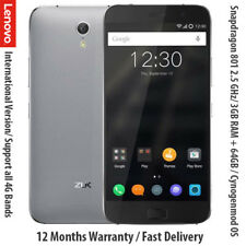 "Lenovo ZUK Z1 64 GB Smartphone 5.5"" FHD SCREEN Snapdragon 801 2.5GHz CPU"