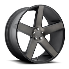 "24"" DUB Baller Black DDT Wheels Rims & Atturo XT Tires Package 6x135 Ford F150"