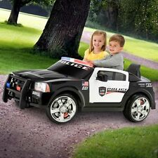 Kids Electric Police Cruiser Car Dodge Charger Battery Powered 12 Volt Toy NEW