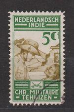 Nederlands Indie Netherlands Indies Indonesia nr 218 used Militaire Bond 1935