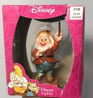 CVS / Enesco Disney Princess HAPPY Figurine from Snow White & Seven Dwarfs
