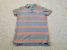 Superdry Men's Polo Shirt Grey / Orange  Size  Adult Small  (M2)