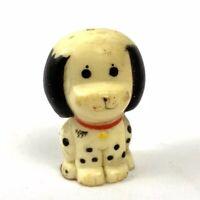 "Vintage Dalmatian Sitting Puppy Dog 1975 Red Collar 1 1/2 """