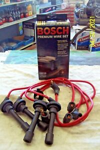 BOSCH SILICONE PLUG WIRES 09830 FITS HONDA ACCORD PRELUDE ODYSSEY OASIS 1990-97