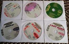 6 CDG KARAOKE DISCS BEST OF GIRL POP & COUNTRY-TAYLOR SWIFT,ADELE,KE$HA CD+G
