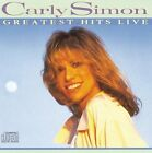 Carly Simon CD Greatest Hits Live