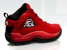 Fila 96 Sz 12 Black RED SUEDE 97 95 Gh3 Grant Hill fx 100 331 mb Gh2 hof cage