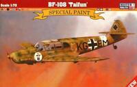 MESSERSCHMITT Bf-108 B TAIFUN (RAF USAAF CROAT POLISH SPANISH MKGS) MISTERCRAFT