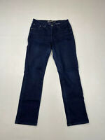 LEVI'S DEMI CURVE STRAIGHT Jeans - W30 L32 - Navy - Great Condition - Women's