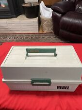 REBEL 600 Tackle Box only NO EXTRAS ( VERY NICE )