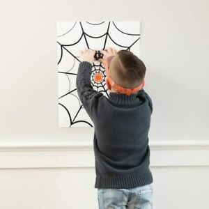 Halloween Pin the Spider on the Web (Like Donkey) Childs Party Game Family Fun
