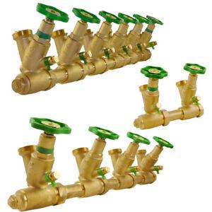 Wasserverteiler Sanitär Kompaktverteiler Verteiler Verteilerblock Schlösser