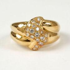 Ringe aus Gelbgold mit sehr gute (16,8 mm Ø) 53
