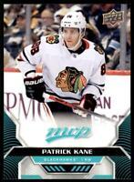 2020-21 UD MVP Base SP #206 Patrick Kane - Chicago Blackhawks