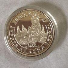 Alaska Iditarod 1993 Rare Vintage Medallion Silver Medallion Proof 1Oz