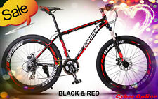 Brand New Cyber Z300 Black&Red 26 inch 21 Gears Shimano  Mountain bike+bonus
