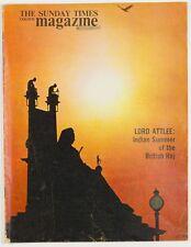India EVE ARNOLD Lord Snowdon JOHN ATTLEE Brian Brake THE SUNDAY TIMES magazine
