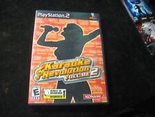 Karaoke Revolution Volume 2 (Sony PlayStation 2, 2004) CIB Complete