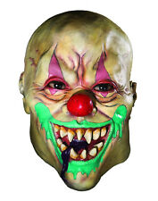 Creepy Adult Latex Demon Clown Mask