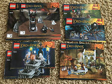 Lego LOTR Lord Of The Rings 79007 79005 79006 9470 75005 9469 Lot 10