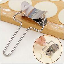 Stainless Steel Dough Press Dumpling Ravioli Mold Maker Cooking Pastry Tool