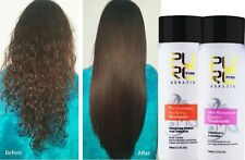 Pure Brazilian Dry+Shampoo Kit Keratin Hair Straightening Treatment 100 ml Blow