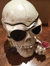 MUST HAVE!! Ashtray Cigarette Tobacco Skull Shape smoking decoration gift Pirate