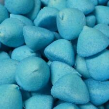 BLUE PAINTBALLS MALLOWS 900G BAG (APX 150) MARSHMALLOWS SWEETS PARTY WEDDINGS