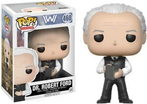 Funko POP! Westworld #460 Dr. Robert Ford [In Pop Protector] *Brand New*