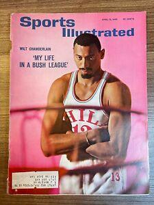 1965 Sports Illustrated WILT CHAMBERLAIN PHILADELPHIA 76ERS 04/12/1965
