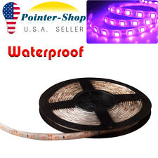 5M Pink 5050 SMD 300 LED Car Motor Boat Flexible Light Strip Tape Waterproof 12V
