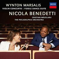 Nicola Benedetti Wynton Marsalis - Violin Concerto [CD] Sent Sameday*