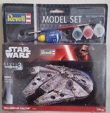 Star Wars Millenium Falcon Revell Kit & Paint NEW Level 3