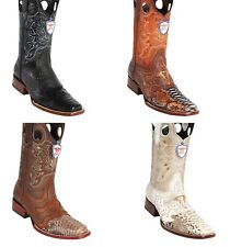 b169660d072 Leather Wild West Boots for Men for sale | eBay
