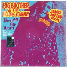 "BIG BROTHERS & THE HOLDING COMPANY  PIECE OF MY HEAR /TURTLE..7"" 45 GIRI"
