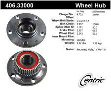 Wheel Bearing and Hub Assembly-Sedan Rear Centric 406.33000