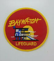4.Baywatch Lifeguard Swimsuit Logo Patch 4 inches wide