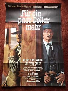 Für ein paar Dollar mehr Kinoplakat Poster A0, 84x119cm, Clint Eastwood, 1969