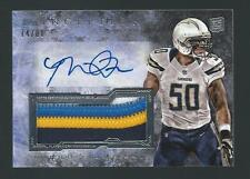 2013 Inception Manti Te'o Rookie Auto Prime Patch /88