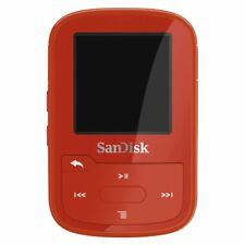 SanDisk Clip Sport Plus 16GB Lettore MP3 Rosso