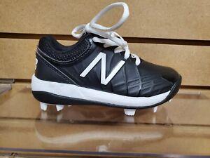 Youth New Balance Molded Baseball Cleats Black/White(J4040BK5)Brand New in Box