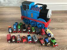 Thomas The Tank Engine Take N Play Bundle 3 D Carry Case 18 Trains CHRISTMAS #4