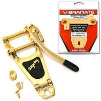 Bigsby B7-G Vibramate V7-G Gold Vibrato Kit Tremolo (Gibson Les Paul)