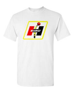 Hot Rod Tee T Shirt Drag Race 100% Cotton Hurst Shifter Speed Shop Drag Race
