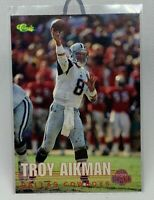 👀TROY AIKMAN 1995 CLASSIC DRAFT #109 DALLAS COWBOYS