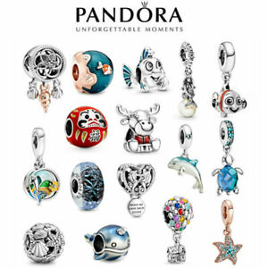 New Genuine Pandora Ocean Charm S925 ALE Sterling Silver & With Gift Bag